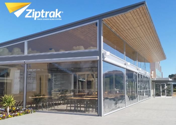 Ziptrak Clear PVC Outdoor Blind